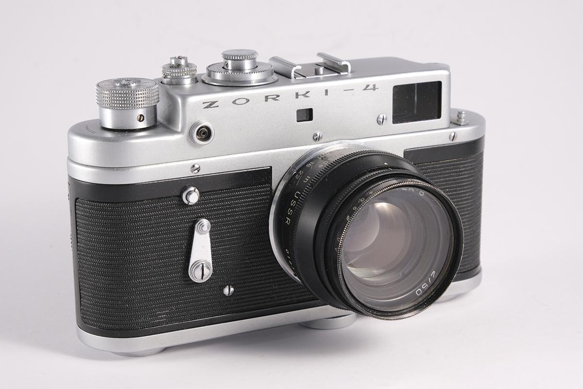 zorki-4 camera
