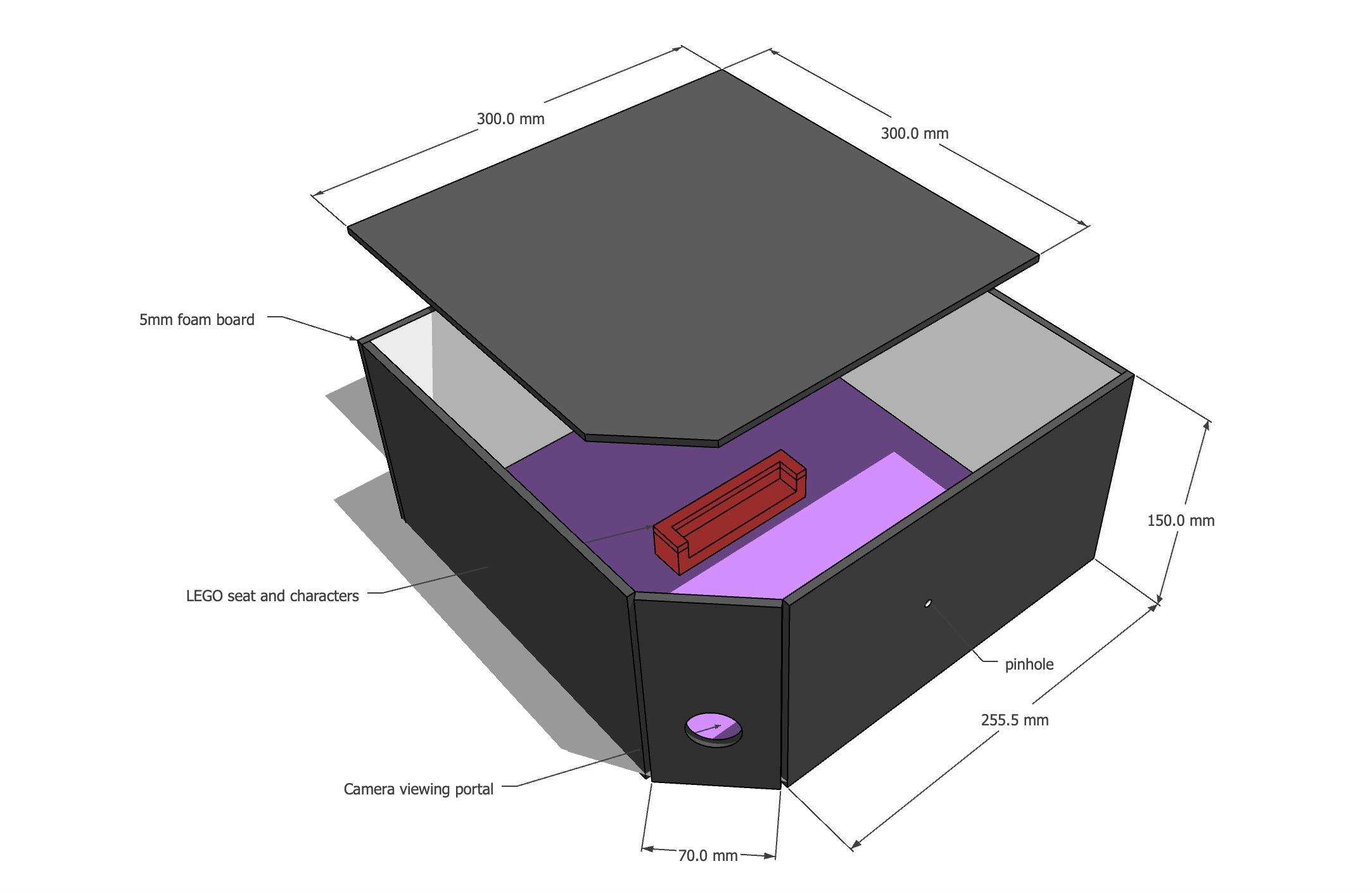 design for the lego lockdown camera